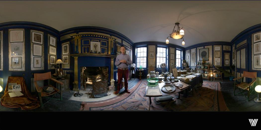 360 degree lighting for VR